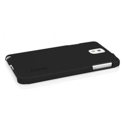 Incipio Feather Case - поликарбонатов кейс за Samsung Galaxy Note 3 N9000 (черен)  3
