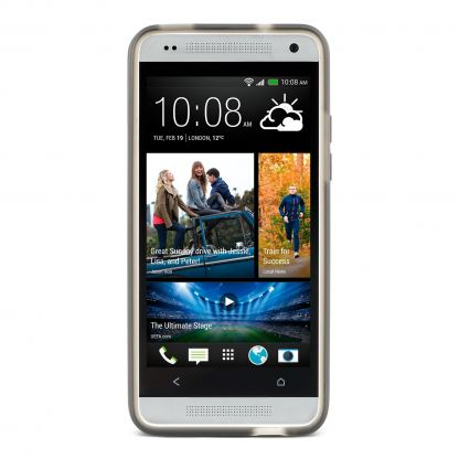 Belkin Grip - термополиуретанов кейс за HTC One mini (черен) 3