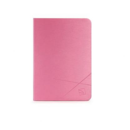 Tucano Filo Hard Folio Case - текстилен калъф с Auto On/Off и поставка за iPad Air (розов) 2