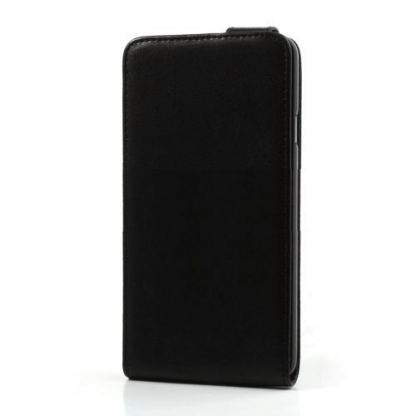 Leather Flip Case - кожен калъф за Samsung Galaxy Note 3 N9000 (черен) 2