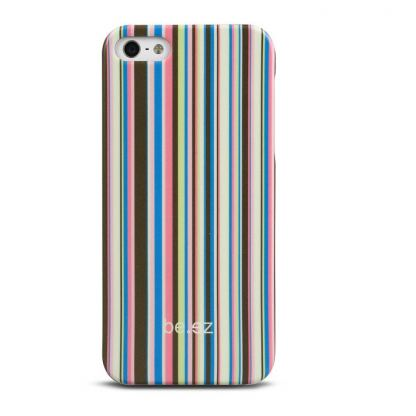 Be.ez LA cover Allure - поликарбонатов кейс за iPhone 5, iPhone 5S (розов-жълт) 2