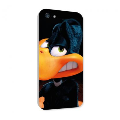 Warner Bross Daffy Duck Smile Case - дизайнерски поликарбонатов кейс за iPhone 5, iPhone 5S