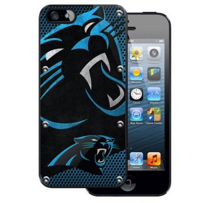 NFL Carolina Panthers Case - поликарбонатов кейс за iPhone 5, iPhone 5S