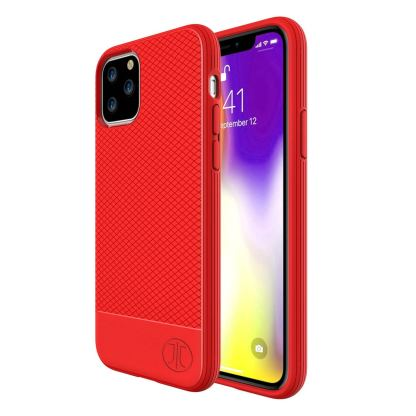 JT Berlin BackCase Pankow Soft - силиконов TPU калъф за iPhone 11 Pro (червен)