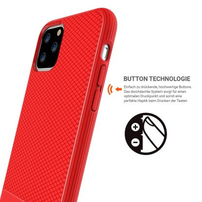 JT Berlin BackCase Pankow Soft - силиконов TPU калъф за iPhone 11 Pro (червен) 2