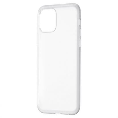 Baseus Jelly Liquid Silica Gel Case - силиконов (TPU) калъф за iPhone 11 Pro (бял) 2