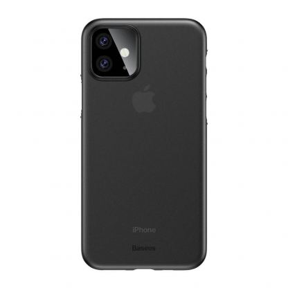 Baseus Wing case - тънък полипропиленов кейс (0.45 mm) за iPhone 11 (сив)