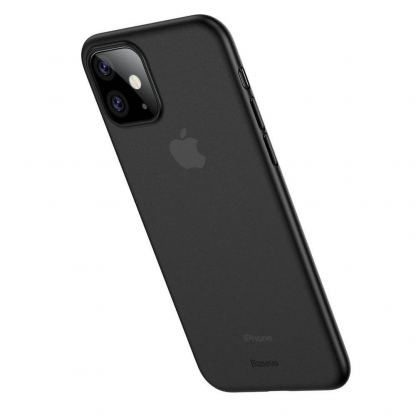 Baseus Wing case - тънък полипропиленов кейс (0.45 mm) за iPhone 11 (сив) 4