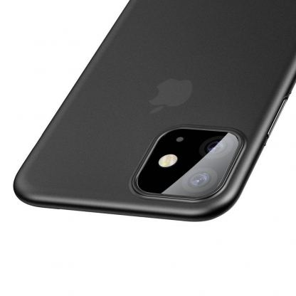 Baseus Wing case - тънък полипропиленов кейс (0.45 mm) за iPhone 11 (сив) 5