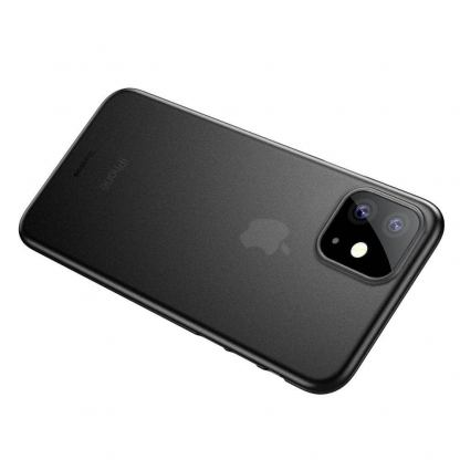 Baseus Wing case - тънък полипропиленов кейс (0.45 mm) за iPhone 11 (сив) 6