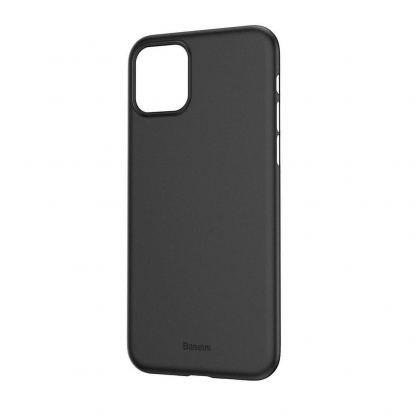 Baseus Wing case - тънък полипропиленов кейс (0.45 mm) за iPhone 11 (сив) 7