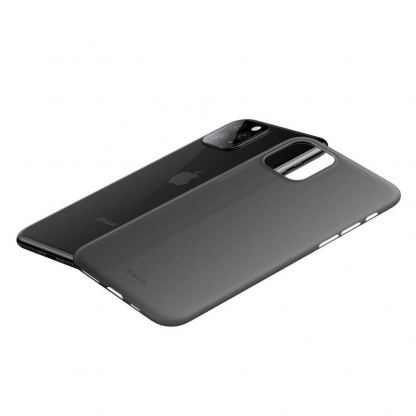 Baseus Wing case - тънък полипропиленов кейс (0.45 mm) за iPhone 11 Pro (сив) 4