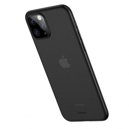 Baseus Wing case - тънък полипропиленов кейс (0.45 mm) за iPhone 11 Pro (сив) 5