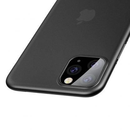 Baseus Wing case - тънък полипропиленов кейс (0.45 mm) за iPhone 11 Pro (сив) 6