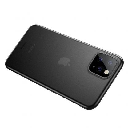 Baseus Wing case - тънък полипропиленов кейс (0.45 mm) за iPhone 11 Pro (сив) 7
