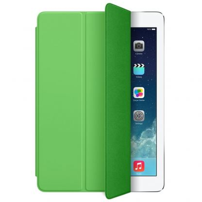 Apple Smart Cover - полиуретаново покритие за iPad Air, iPad Air 2 (зелен)