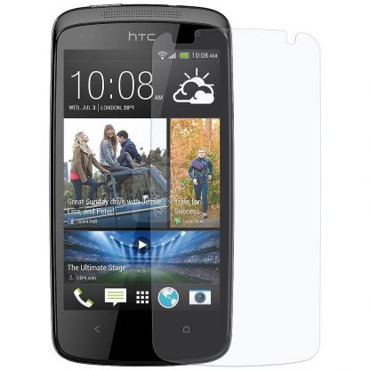 Clear Screen Protector - защитно покритие за дисплея на HTC Desire 300