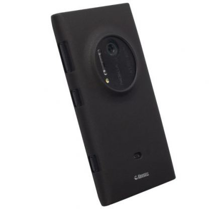 Krusell ColorCover - поликарбонатов кейс за Nokia Lumia 1020 (черен)