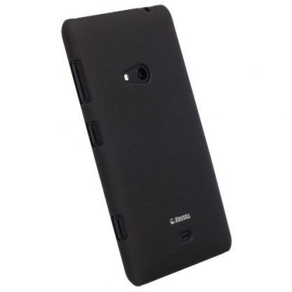 Krusell ColorCover - поликарбонатов кейс за Nokia Lumia 625 (черен)