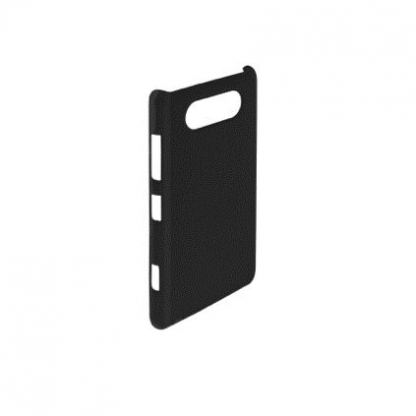 Trendy8 Faceplate SoftTouch - поликарбонатов кейс за Nokia Lumia 820 (черен)