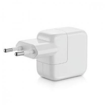 Apple 12W USB Power Adapter - оригинално захранване за iPad, iPhone, iPod (EU стандарт) (bulk) 2