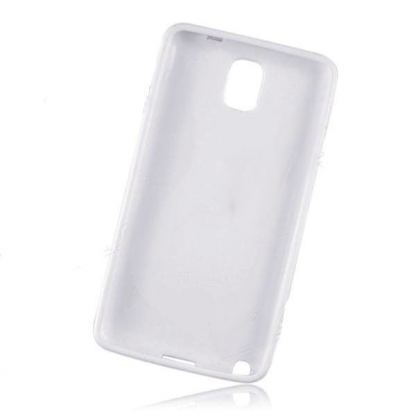 S-Line Cover Case - силиконов калъф за Samsung Galaxy Note 3 N9000 (бял) 2