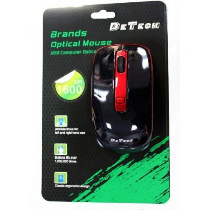 4D Wireless  Optical Mouse DeTech - 906 2
