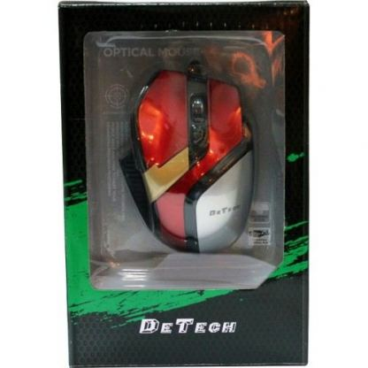 6D Wired Optical Mouse  DeTech - 902 2