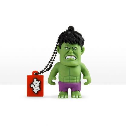 USB Tribe Marvel The Hulk High Speed USB 2.0 Flash Drive 8GB - флаш памет 8GB