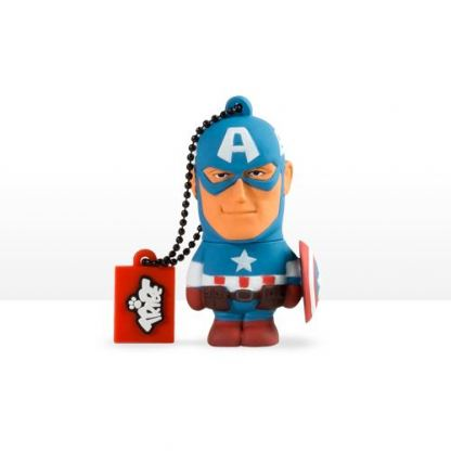 USB Tribe Marvel Captain America High Speed USB 2.0 Flash Drive 8GB - флаш памет 8GB
