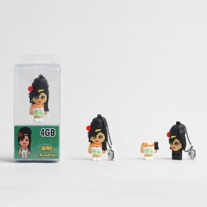 USB Tribe Toonstar Wino High Speed USB 2.0 Flash Drive 4GB - флаш памет 4GB 2