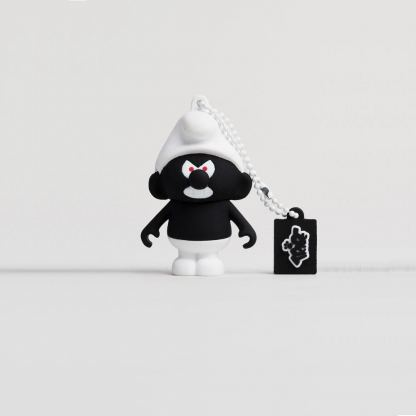 USB Tribe Black Smurf High Speed USB 2.0 Flash Drive 8GB - флаш памет 8GB