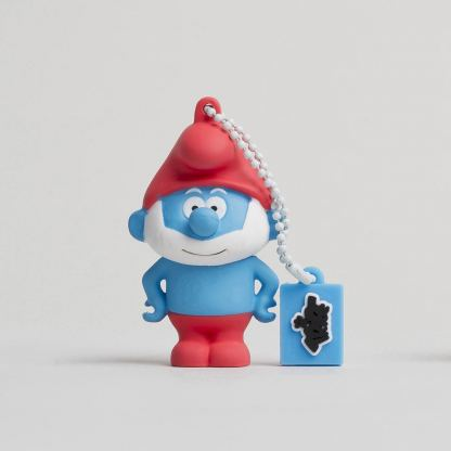 USB Tribe Papa Smurf High Speed USB 2.0 Flash Drive 8GB - флаш памет 8GB