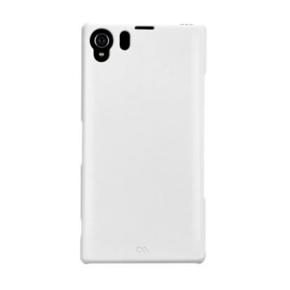CaseMate Barely There - тънък поликарбонатов кейс за Sony Xperia Z2 (бял) 3