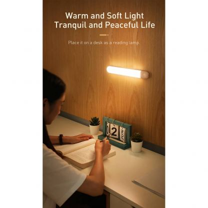 Baseus Sunshine Series Human Body Induction Wardrobe Light - нощна LED лампа (топла светлина) 5