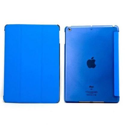 Tipxcase Airslim Collection - кожен кейс и поставка за iPad mini, mini Retina (син) 2