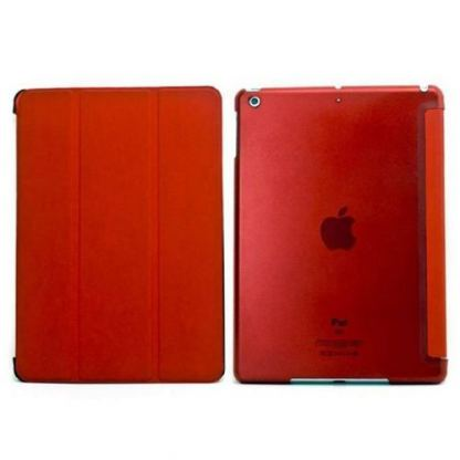Tipxcase Airslim Collection - кожен кейс и поставка за iPad mini, mini Retina (червен) 2