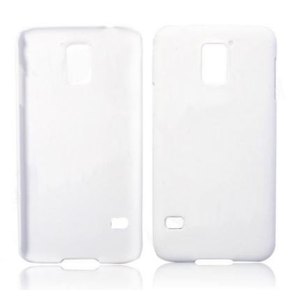Protective Plastic Case - поликарбонатов кейс за Samsung Galaxy S5 SM-G900 (бял)