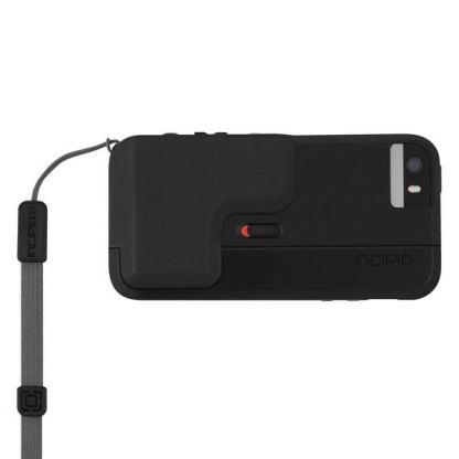 Incipio Focal Camera Case - поликарбонатов кейс с функция снимане за iPhone 5, iPhone 5S (черен) 2