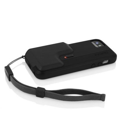 Incipio Focal Camera Case - поликарбонатов кейс с функция снимане за iPhone 5, iPhone 5S (черен) 3