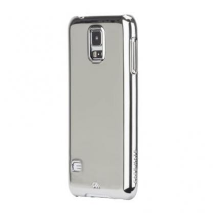 CaseMate Barely There - поликарбонатов кейс за Samsung Galaxy S5 SM-G900 (хромиран)  2