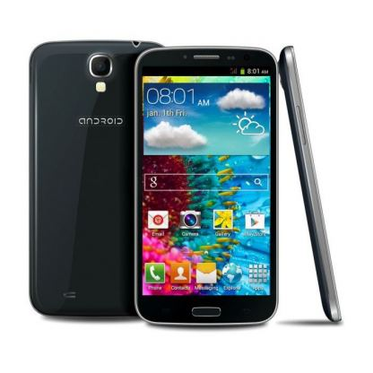GSM Android HD9000, черен цвят 2xSIM Android 4.2 6""