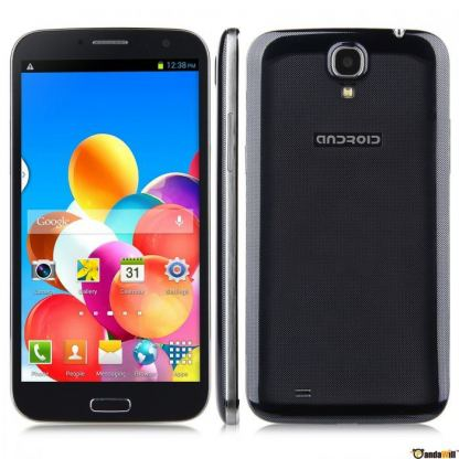 "GSM Android HD9000, черен цвят 2xSIM Android 4.2 6"" 2"