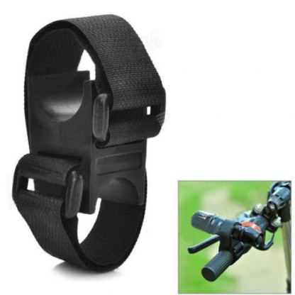 Bicycle Flashlight Mount - поставка за фенерче за велосипед 2