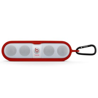 Beats by Dre Pill Sleeve - предпазен калъф за Beats Pill аудио система (червен)
