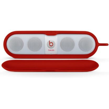 Beats by Dre Pill Sleeve - предпазен калъф за Beats Pill аудио система (червен) 2