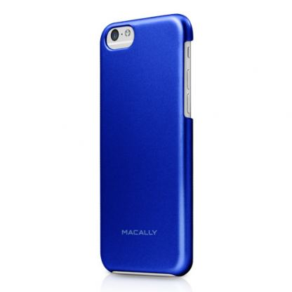 Macally PC case - поликарбонатов кейс за iPhone 6/6S (син)