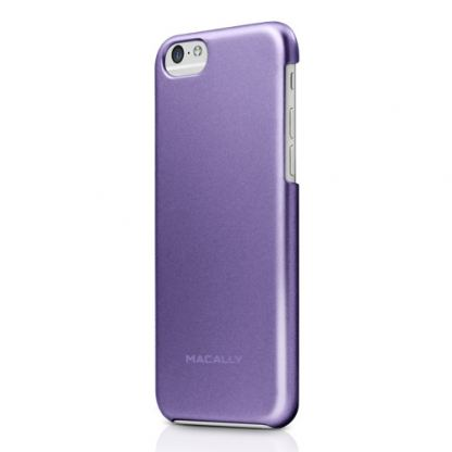 Macally PC case - поликарбонатов кейс за iPhone 6/6S (лилав)
