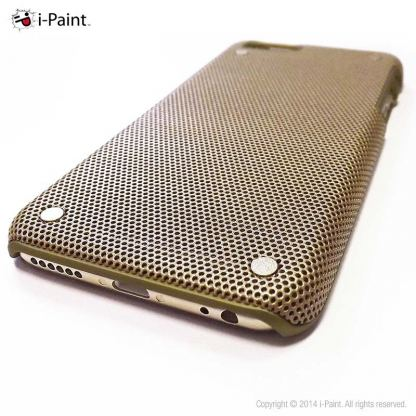 iPaint Gold MC Case - метален кейс за iPhone 6/6S (златист) 3