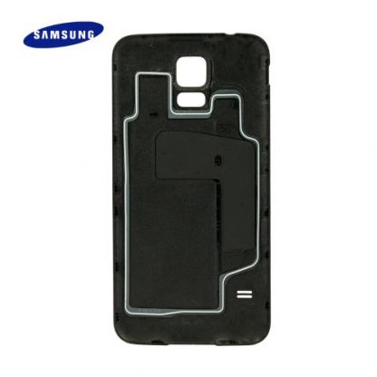 Samsung Battery Cover - оригинален заден капак за Samsung Galaxy S5 SM-G900 (бял) 2